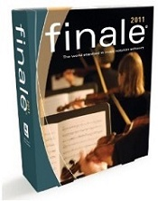 Finale 2011 music notation software