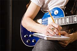 writing song