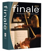 Finale music composition software