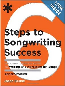6 Steps To Songwriting Success by Jason Blume