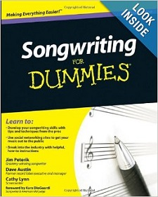 Songwriting For Dummies by Jim Peterik et al